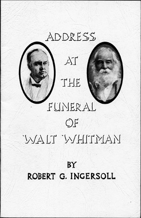 Address at the Funeral of Walt Whitman