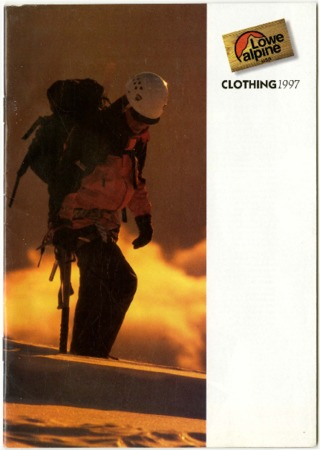 Lowe Alpine Systems, Clothing, 1997