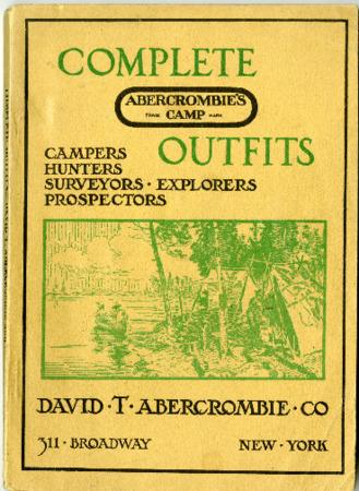 Abercrombie's Camp/David T. Abercrombie Company, 1914