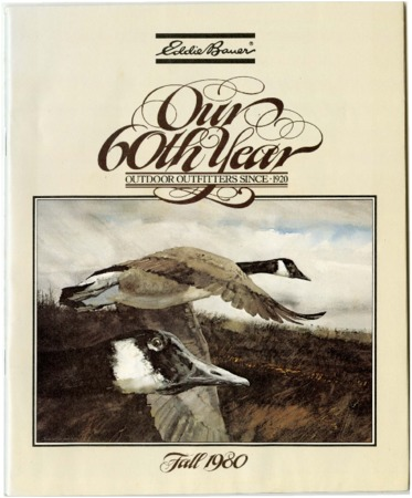 Eddie Bauer Expediton Outfitter, Our 60th Year Fall 1980