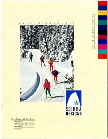 Sierra Designs, Fall/Winter 1990