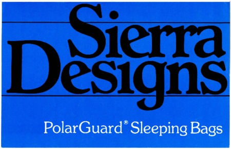 Sierra Designs, Polar Guard Sleeping Bags, undated