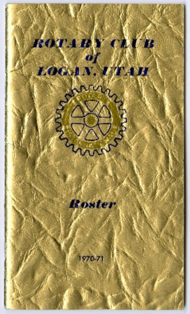 Rotary Club of Logan, Utah Roster, 1970