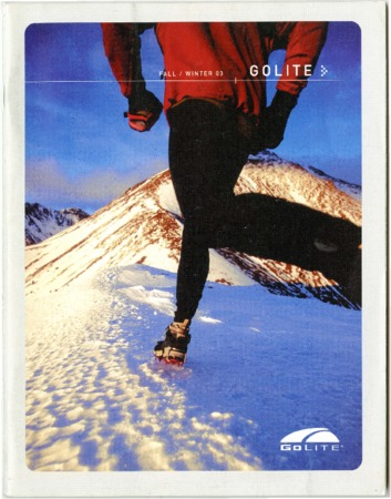 Golite, Fall/Winter 2003