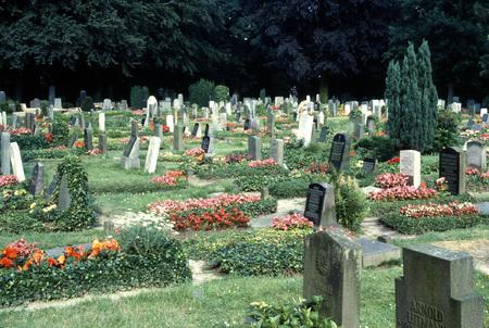 Bremen, Germany cemetery