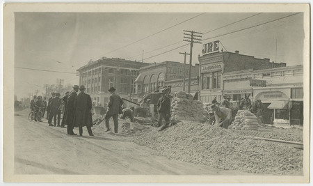 Construction of the Logan Rapid Transit Lines, 1909-1910 - 4<br />