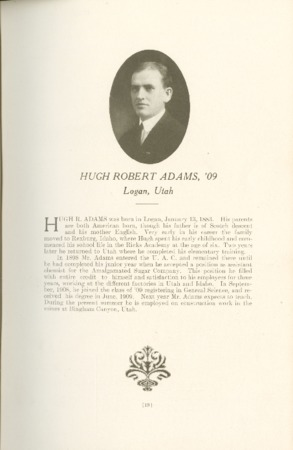 1909 A.C.U. Graduate Yearbook, Page 19