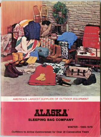 Alaska Sleeping Bag Company, Winter 1969-1970