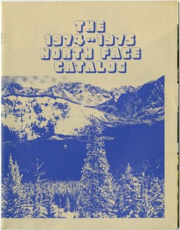 The North Face Catalog, 1974-1975