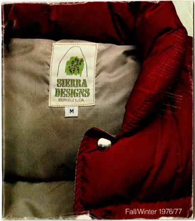 Sierra Designs, Fall/Winter 1976-1977