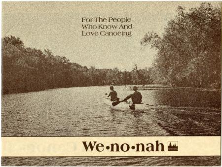 Wenonah Canoe, undated