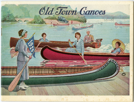 Old Town Canoe, 1925