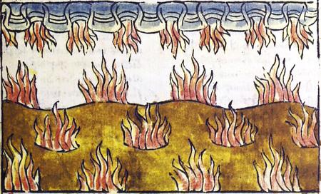 Der Antichrist und die fünfzehn Zeichen, 36 a