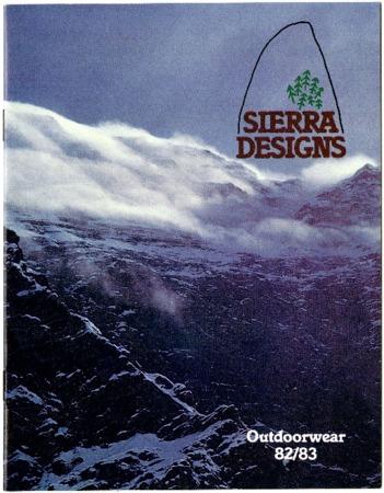 Sierra Designs, Outerwear, 1982-1983