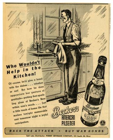 Advertisement for Becker's American Pilsner Beer (11 of 18), 1944