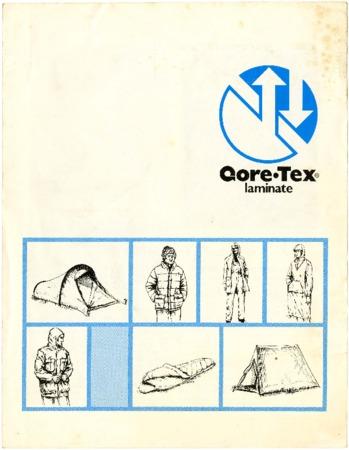 Gore-Tex Laminate, undated
