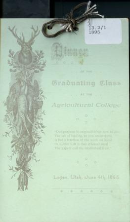 1895 UAC Commencement Menu