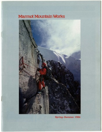 Marmot Mountain Works, Spring/Summer 1984