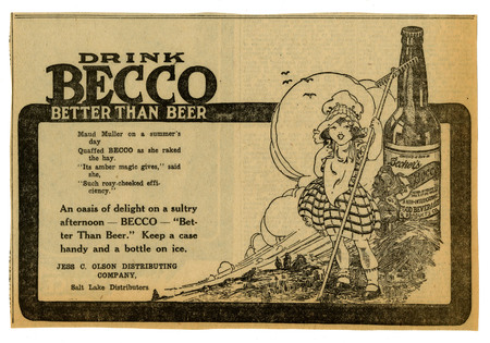 Advertisement for Becker's Becco (9 of 9), 1922