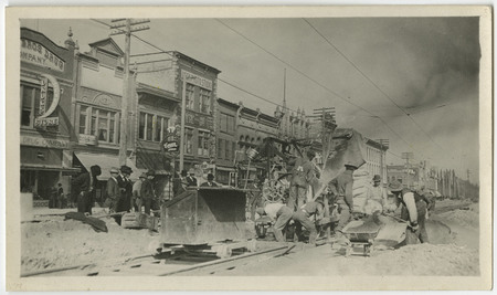 Construction of the Logan Rapid Transit Lines, 1909-1910 - 2<br />
