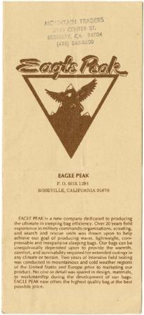 Eagle Peak, undated