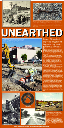 """Unearthed,"" The Herald Journal, 2019<br />"