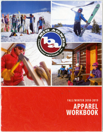 Big Agnes Steamboat Springs Co., Fall/Winter 2018-2019