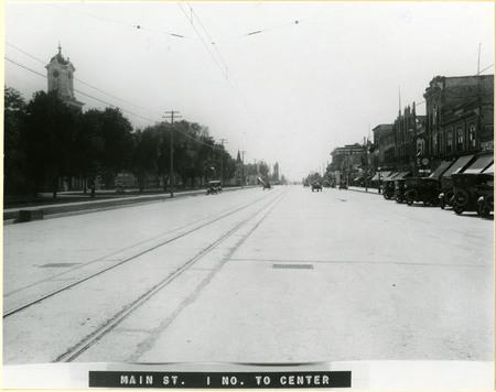 Logan Main Street, 1921<br />