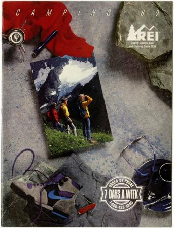 Recreational Equipment, Inc., Camping, 1989