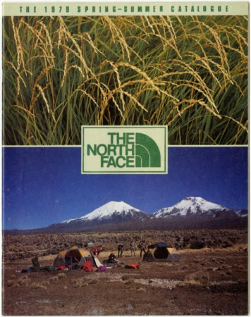The North Face, plants and mountains, Spring/Summer 1979