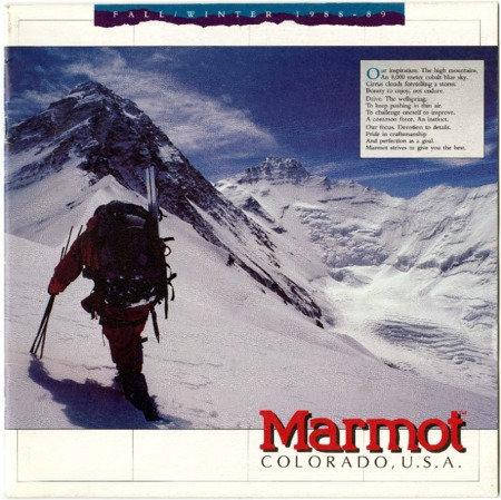Marmot Mountain Works, 1988-1989