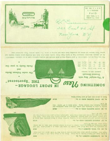 Abercrombie's Camp/David T. Abercrombie Company, undated
