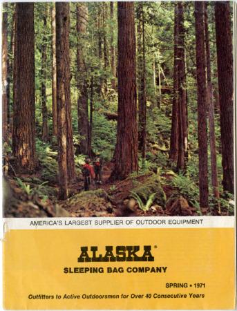 Alaska Sleeping Bag Company, Spring 1971