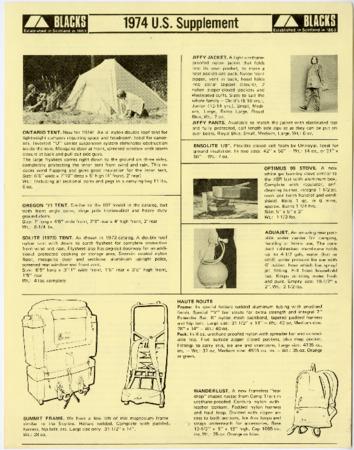 Blacks, U.S. Supplements 1974