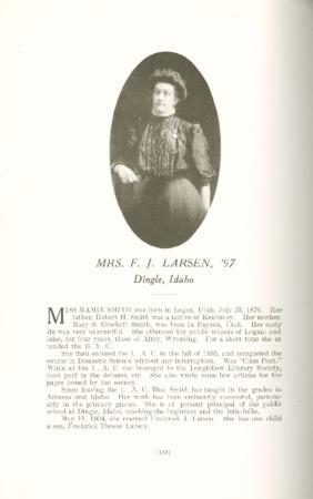 1909 A.C.U. Graduate Yearbook, Page 132