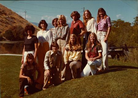 1978 USU Women's Volleyball Team