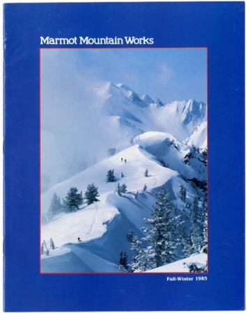 Marmot Mountain Works, Fall/Winter 1985