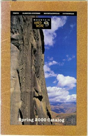 Mountain Hardwear, Spring 2000