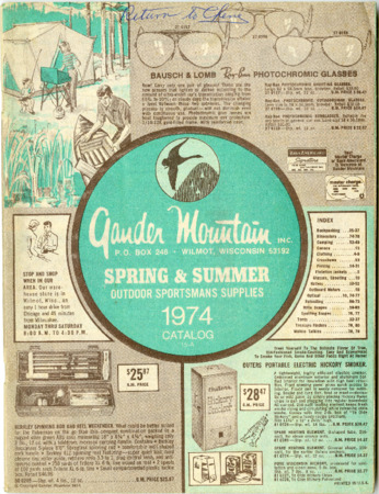 Gander Mountain, Inc., Spring and Summer 1974