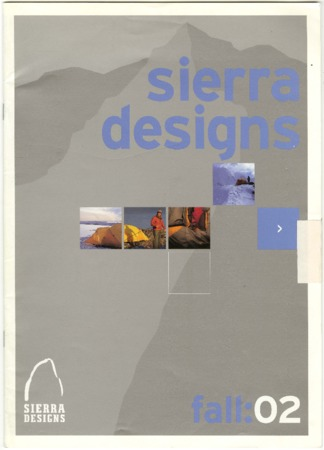 Sierra Designs, Fall 2002