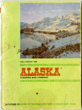 Alaska Sleeping Bag Company, Fall-Winter 1968