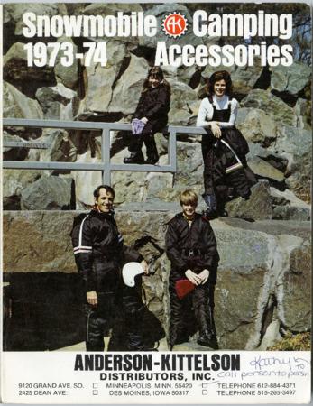 Anderson-Kittelson, 1973-74