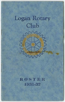 Logan Rotary Club Roster, 19332