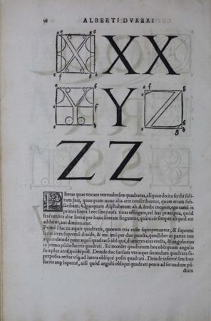 Albrecht Dürer XYZ Type page 4