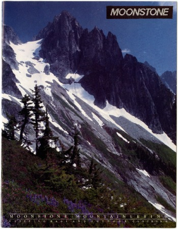 Moonstone, mountaineering, rocky mountains and trees, undated