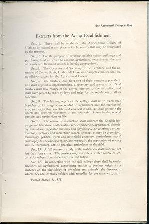 1908 UAC Commencement Program Page 3