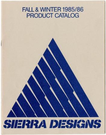 Sierra Designs, Fall/Winter 1985-1986