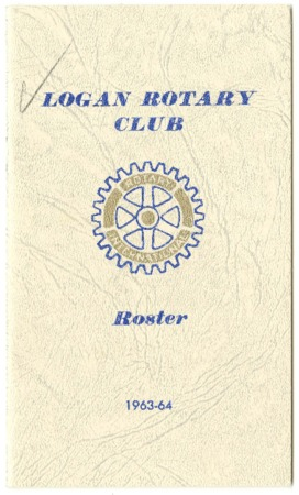 Logan Rotary Club Roster, 1963-64