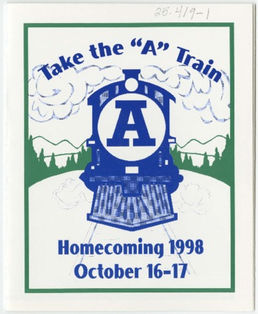 """Take the A Train"" pamphlet - Homecoming 1998"