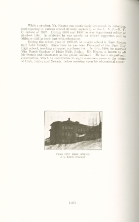 1909 A.C.U. Graduate Yearbook, Page 126